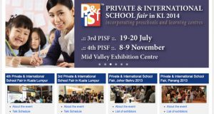private international school fair KL 2014