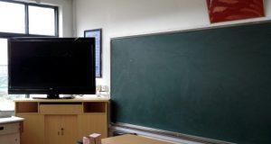 上海の公立小学校の教室。