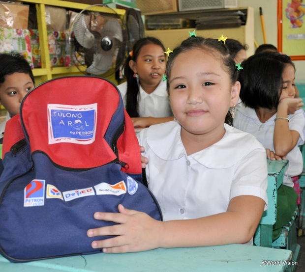 s120649-1: Brand New School Supplies Give Rosegil Hope for a Better Future
