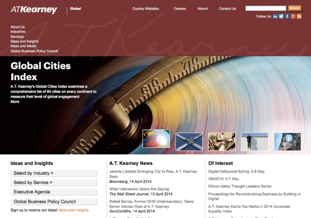 A.T. Kearney Global Cities Index