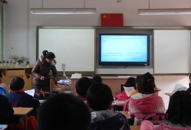 上海の現地校の授業。