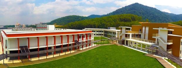 「テンビー・インターナショナルスクール」イポーキャンパスは、13年秋に新校舎に移転。