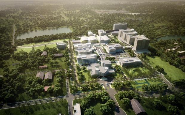 バンコクから北へ30キロに位置する「Thailand Science Park Convention Center」。