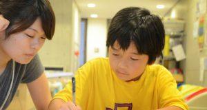 キャンプで取り組んだ内容を、学生リーダーとともにまとめます。