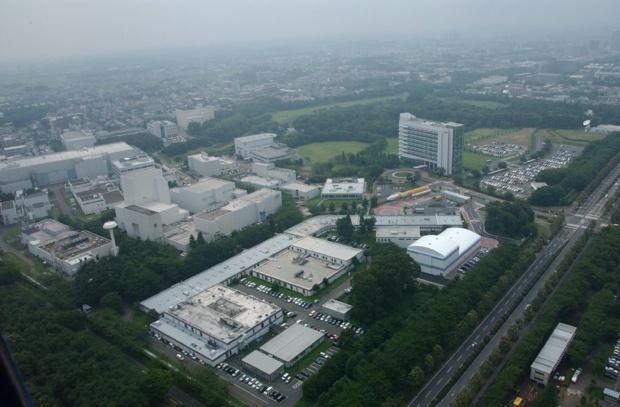 筑波宇宙センター(写真提供/JAXA)。