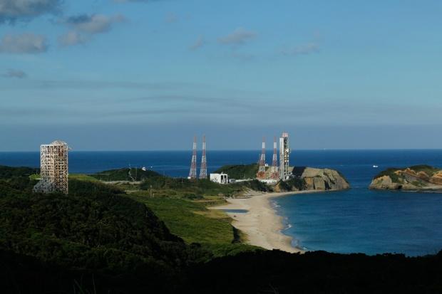 種子島宇宙センター、大型ロケット発射場。写真提供/JAXA