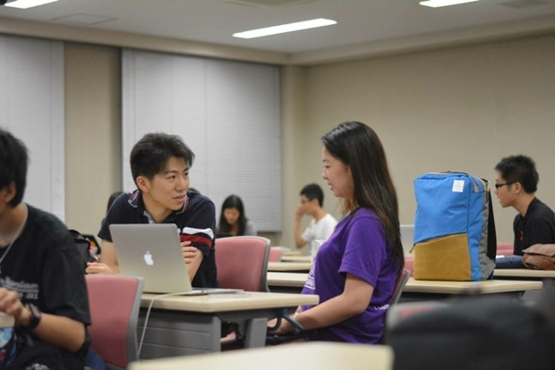 現役海外大学生からマンツーマンでカウンセリングが受けられる。