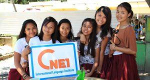 CNE1は、2010年4月にフィリピン・ルソン島で開校した、フィリピン人、韓国人、日本人が共同経営している全寮制語学学校。90名まで受け入れることができることができるそう。