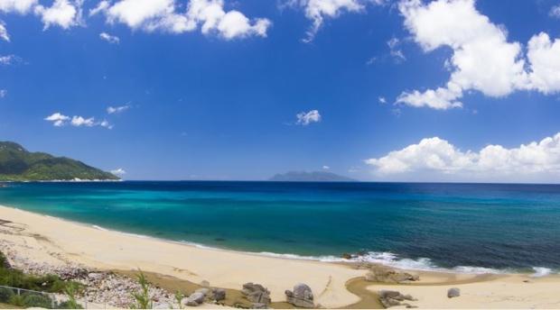 永田集落にある「いなか浜」。
