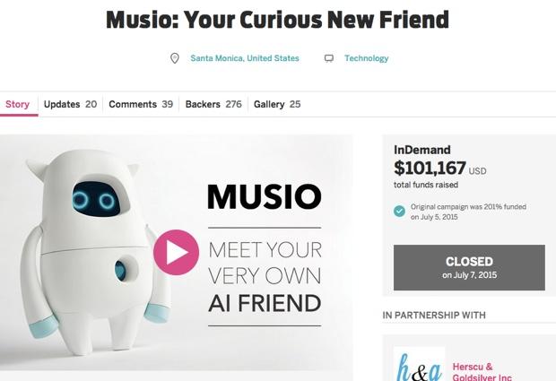 2015年6月には、クラウドファンディング「Indiegogo」で10万ドルの資金を調達し、話題となりました。