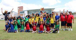 プレップスクール(Year3〜Year6、8〜11歳)の生徒たち。 全校生徒の7割はマレーシア人で、残りの3割が外国人。ブラジル、日本、韓国、中国、カナダ、インドネシアなど19ヵ国から生徒が集う。