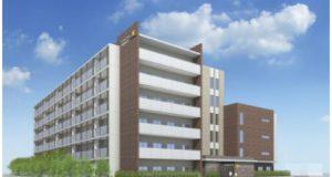 鉄筋コンクリート造、地上6階建て。