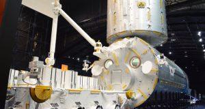 JAXA提供。筑波宇宙センター 展示館「スペースドーム