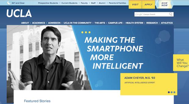 UCLAで教鞭をとっている教授から直接講義が受けられる。