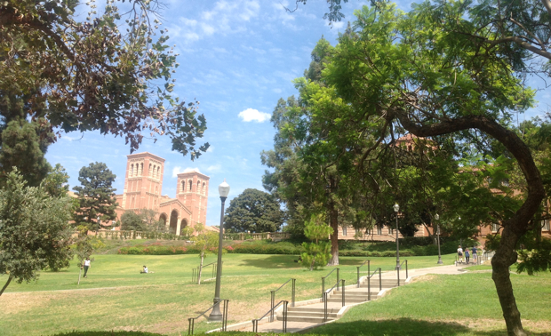 UCLAのキャンパス。