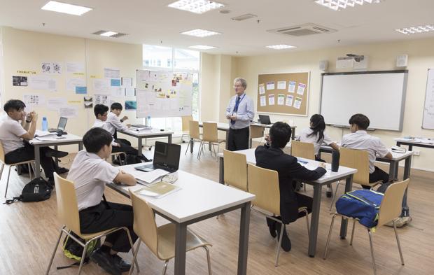 次年度のYear7(現Year6)には約20名の生徒が在籍しており、生徒の割合はローカルが7割、留学生が3割。