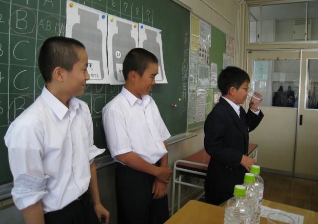 狛江第二中学校(東京都)。