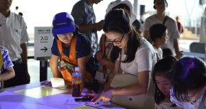 昨年は、科学をテーマとしたセッションで「日本科学未来館」を訪問。