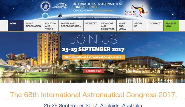 国際宇宙会議(IAC)2017