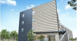 地上4階建て、部屋数156室(個室)のほか、 食堂、キッチン、ランドリー、管理人室を完備。