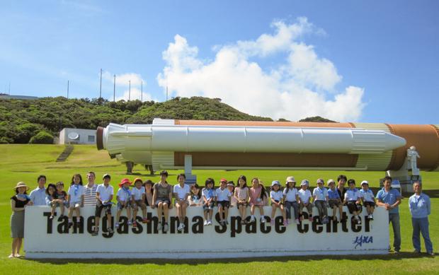 2011年夏に種子島(鹿児島)で実施されたグローバルキャンプ。