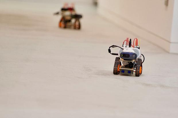 製作したロボット(原価2万円程度)は持ち帰り可能。