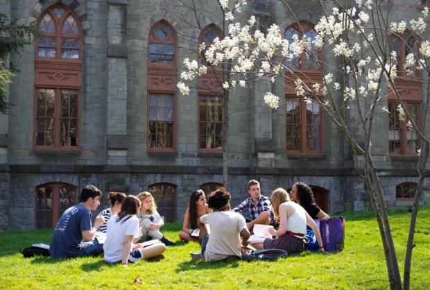 「留学奨励助成金S」対象校のペンシルバニア大学。