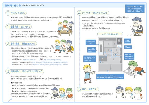 公式サイトで配布されている「編集ガイド」。