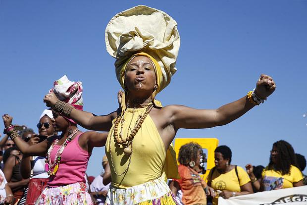 3ª Marcha das Mulheres Negras no Centro do Mundo, no RJ / Agência Brasil