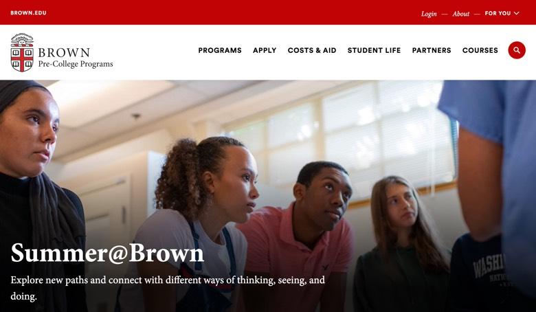 【ブラウン大学】20年は3000名が参加…14〜18才対象オンラインコース「Pre-College Program」