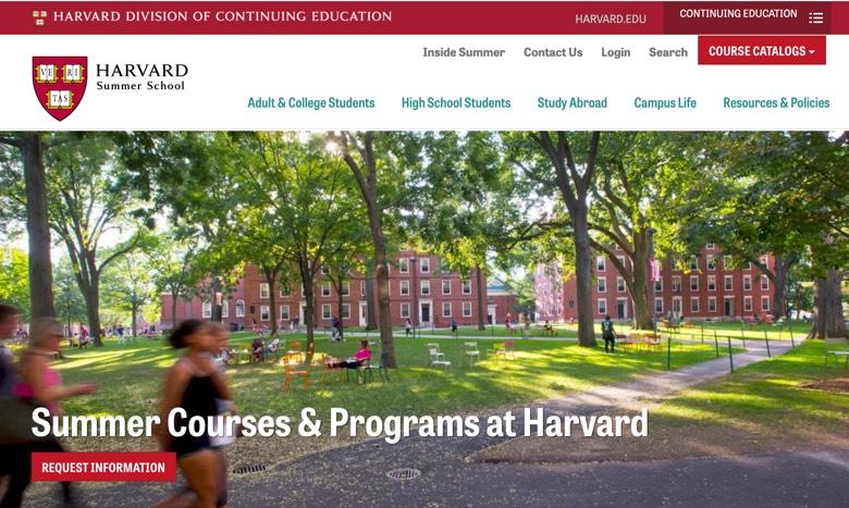 【ハーバード大学】少人数で学ぶ2週間&単位も取れる7週間…高校生オンライン夏期講座2021
